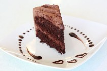 Reine de Saba is a buttercream-frosted chocolate cake. / Flickr photo courtesy of SweetOnVeg  https://commons.wikimedia.org/wiki/File:Vegan_Chocolate_Cake_(5040054370).jpg
