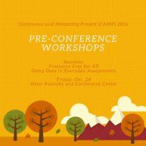 CAMP2016_preconferenceworkshops
