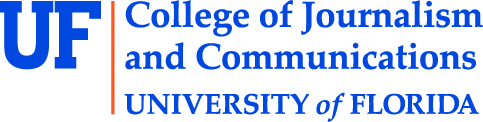 Logo for the College of Journalism and Communications at the University of Florida